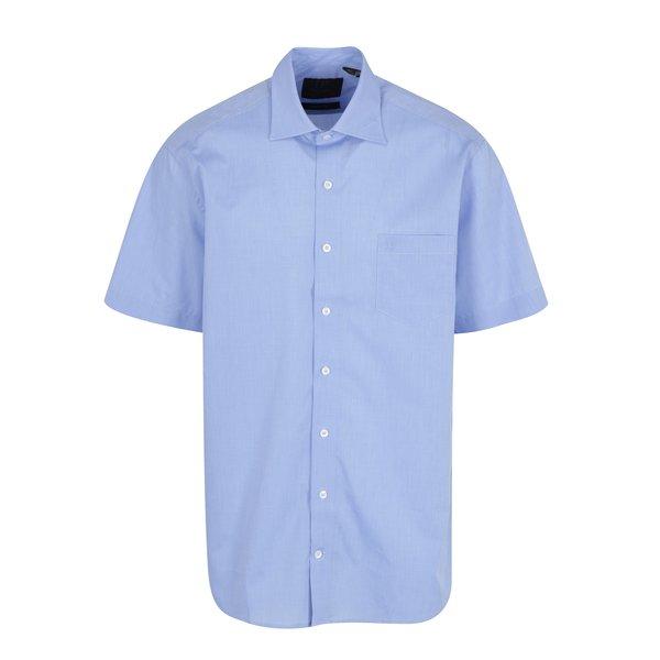 Camasa comfort fit bleu cu buzunar JP 1880