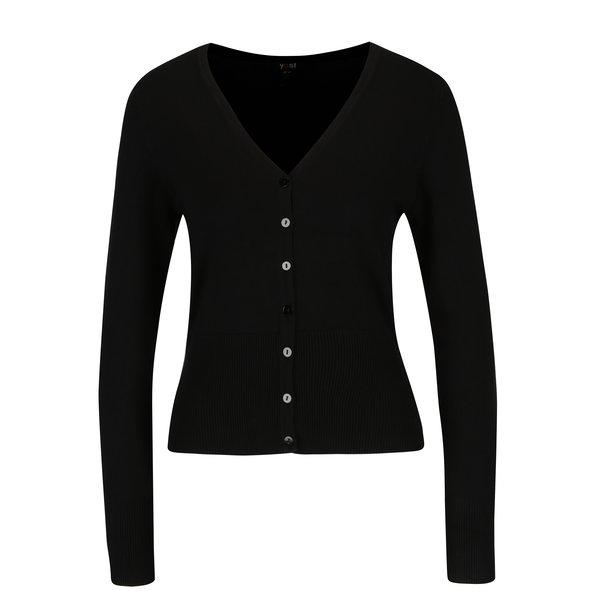 Cardigan negru scurt - Yest