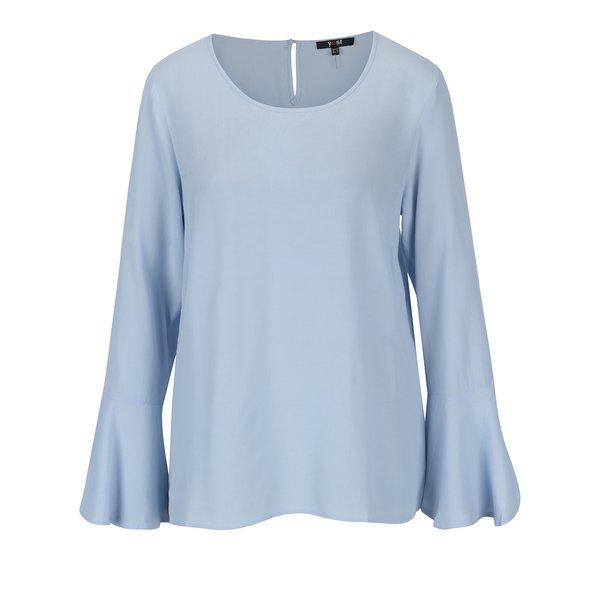 Camasa bleu cu maneci clopot - Yest