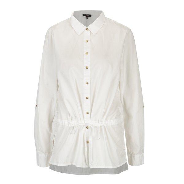Camasa alb prafuit din bumbac - Yest