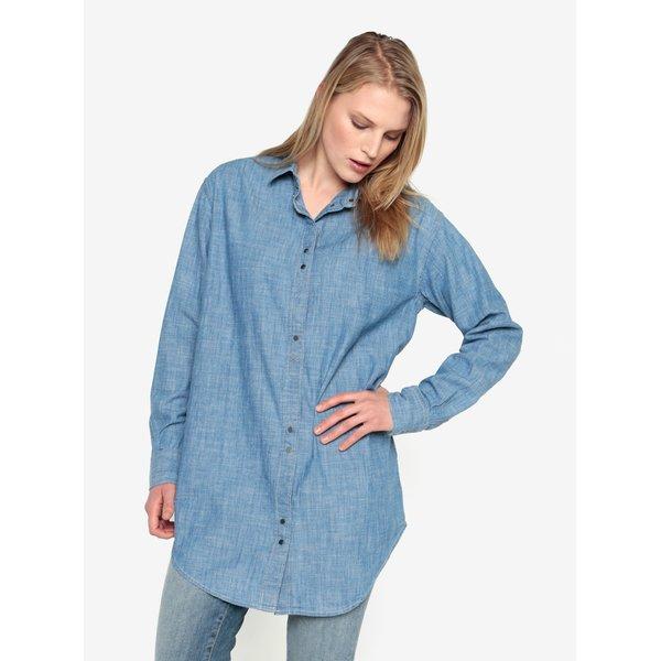 Camasa albastra din denim Selected Femme Brani