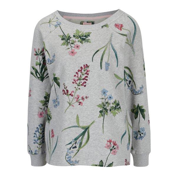 Bluza gri cu print floral pentru femei - Tom Joule Aylesham