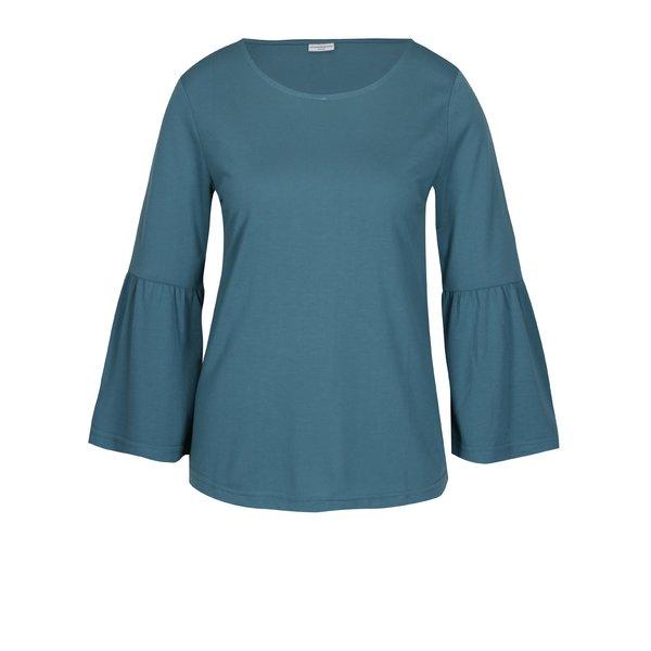 Bluza albastru petrol cu maneci clopot Jacqueline de Yong Minni