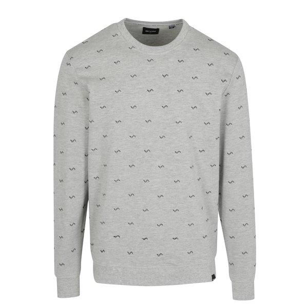 Bluza gri cu model - ONLY & SONS Kilian