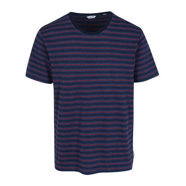 Tricou bleumarin cu model in dungi – ONLY & SONS Indigo