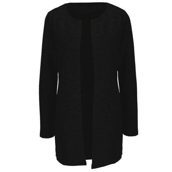 Cardigan negru cu dungi in relief VERO MODA Paris