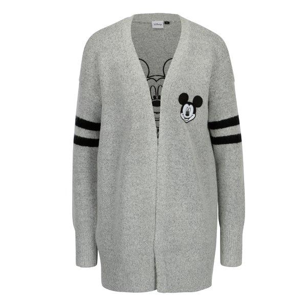 Cardigan gri cu Mickey Mouse - TALLY WEiJL