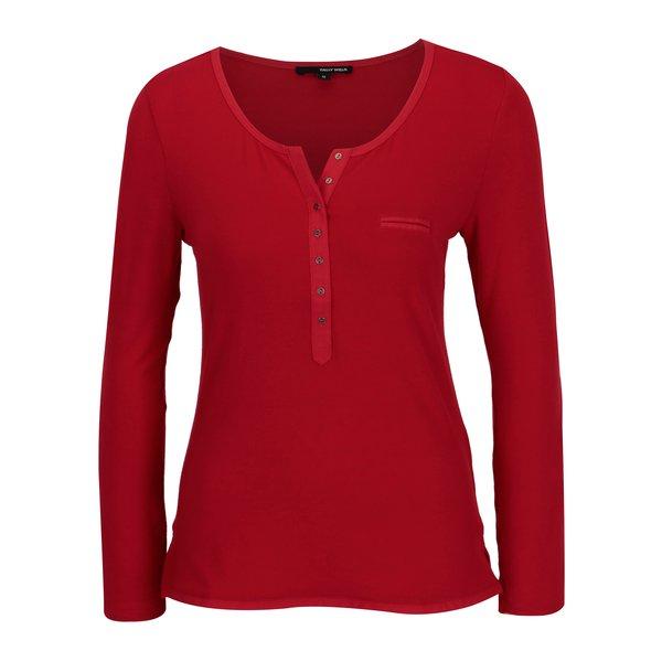 Bluza rosie cu buzunar fals si nasturi - TALLY WEiJL