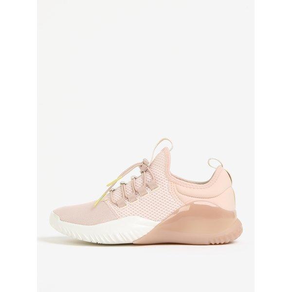 Pantofi sport roz cu siret Tamaris