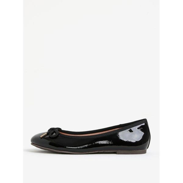 Imagine indisponibila pentru Balerini negri glossy cu fundita - Tamaris
