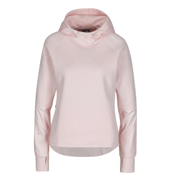 Hanorac roz deschis regular fit pentru femei - Puma