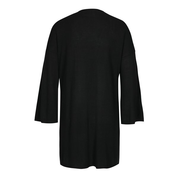 Cardigan lung negru cu maneci clopot - ONLY Silje
