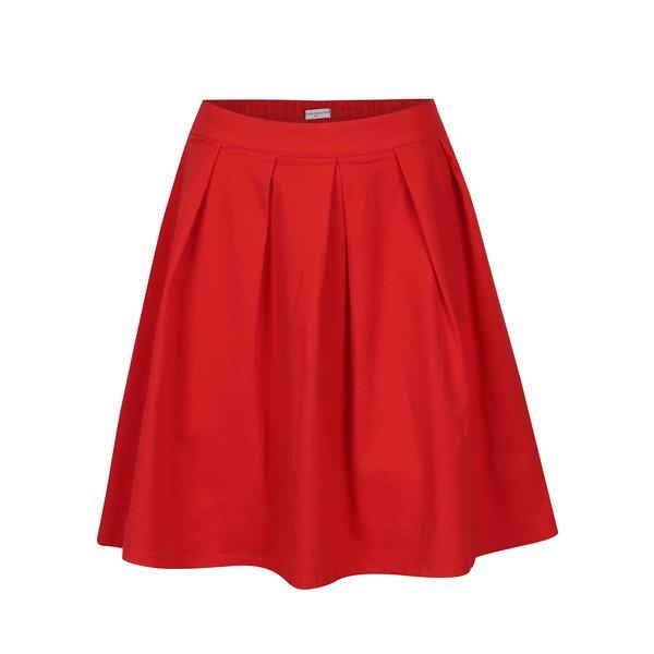 Fusta rosie clos cu talie elastica - Jacqueline de Yong Power