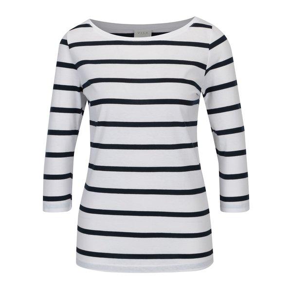 Bluza alba cu dungi VILA Striped