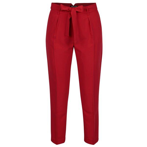 Pantaloni rosii cu cordon in talie - TALLY WEiJL