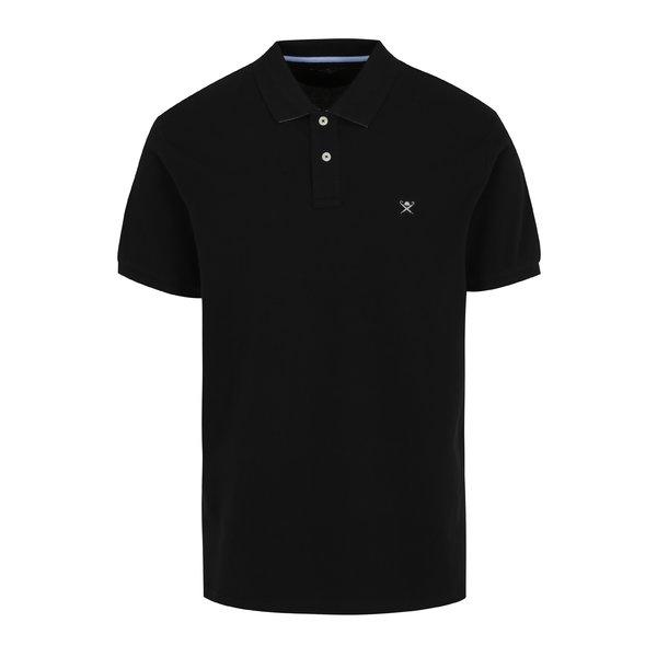 Tricou polo negru – Hackett London Classic