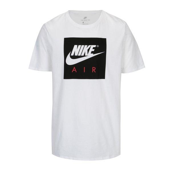 Tricou alb cu logo pentru barbati Nike