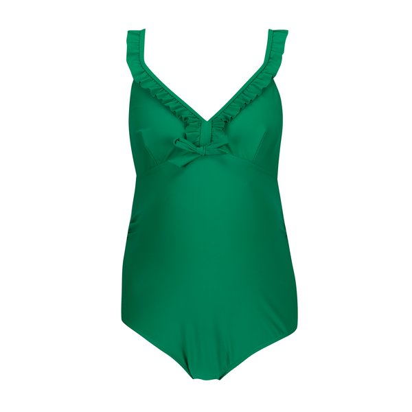 Costum de baie verde pentru femei insarcinate - Mama.licious Nada