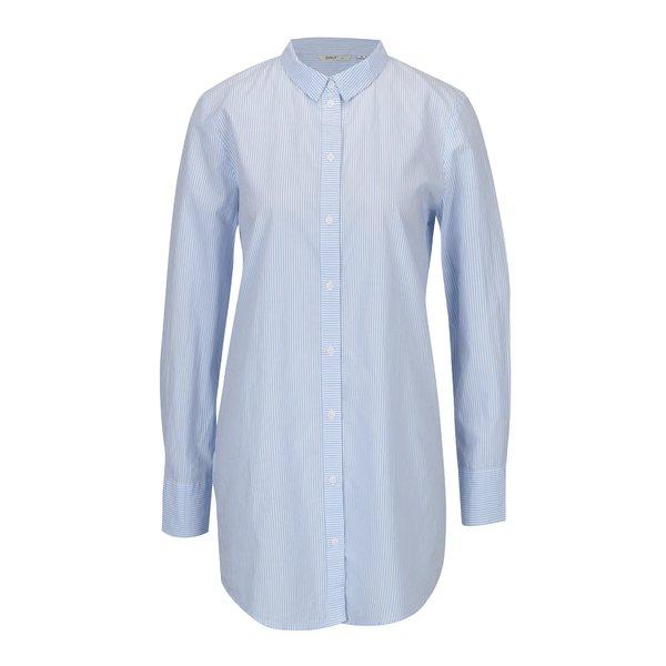 Camasa lunga cu dungi alb & albastru – ONLY Sapelin