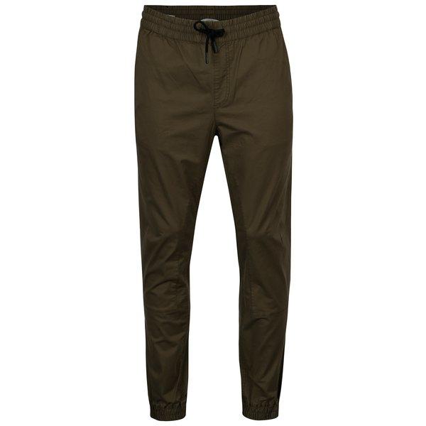 Pantaloni kaki cu snur in talie si buzunare - Jack & Jones Vega