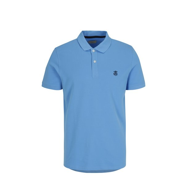 Tricou polo albastru – Selected Homme Haro