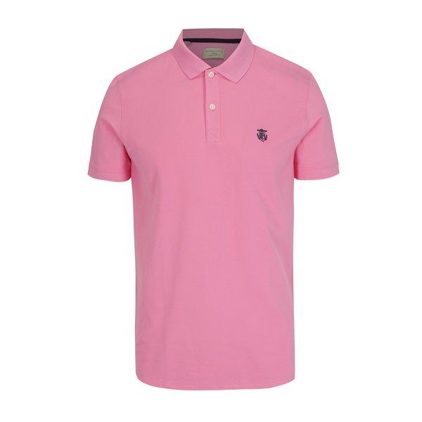 Tricou polo roz deschis - Selected Homme Haro