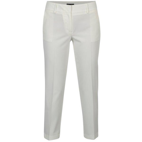 Pantaloni conici crem cu talie clasica - Dorothy Perkins