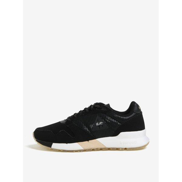 Pantofi sport negri pentru femei - Le Coq Sportif Omega Sparkly