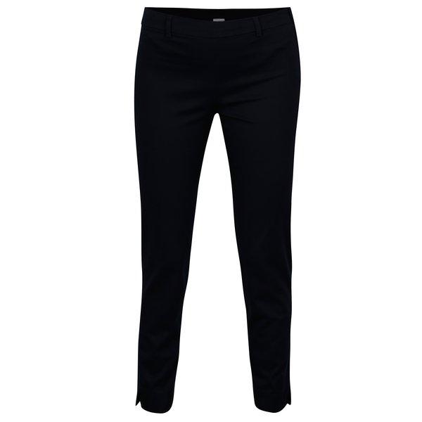 Pantaloni bleumarin cu fermoar lateral - Jacqueline de Yong