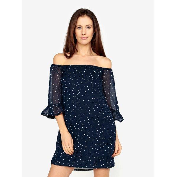 Rochie albastra cu stelute - MISSGUIDED