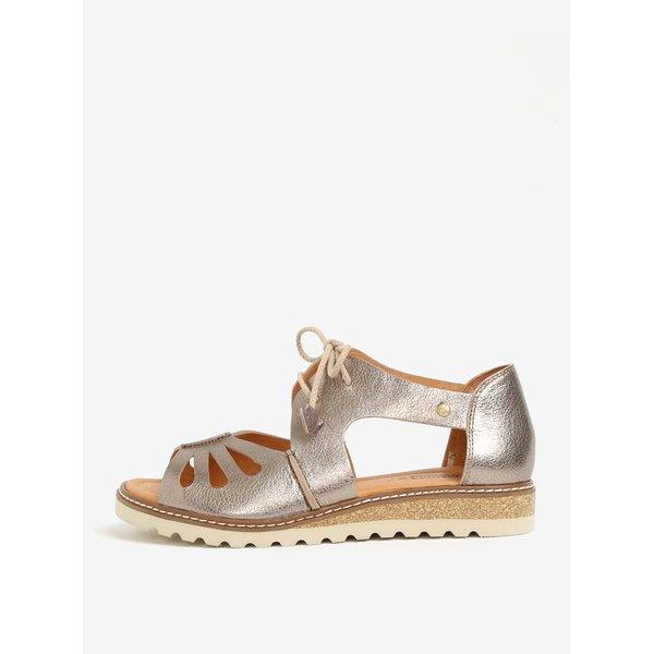 Sandale argintii din piele – Pikolinos Alcudia