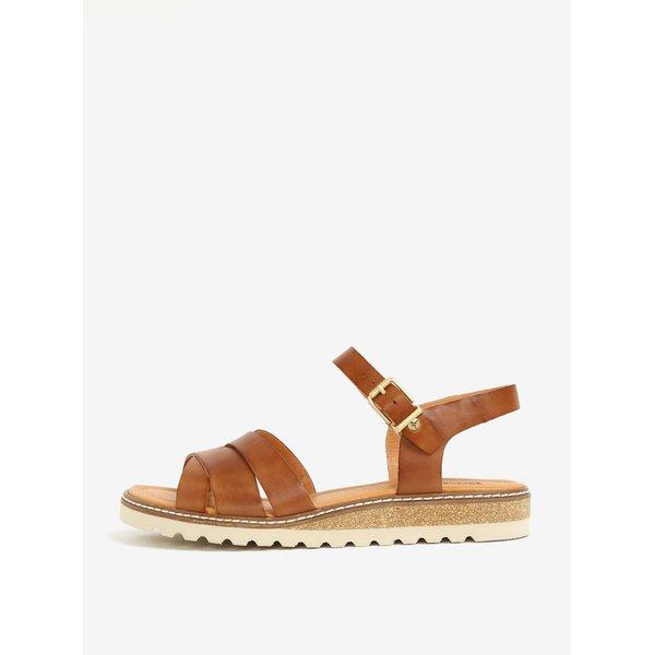 Sandale maro din piele – Pikolinos Mykonos