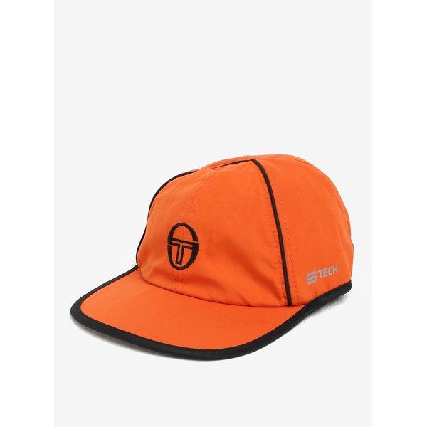 Sapca portocalie cu logo brodat Sergio Tacchini Club Tech