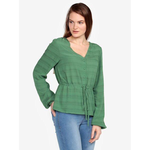 Bluza verde cu model fin – VERO MODA Sophia