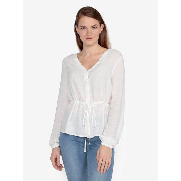 Bluza alb prafuit cu model fin – VERO MODA Sophia
