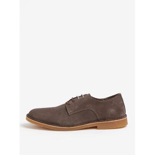Pantofi din piele intoarsa maro - Selected Homme Royce