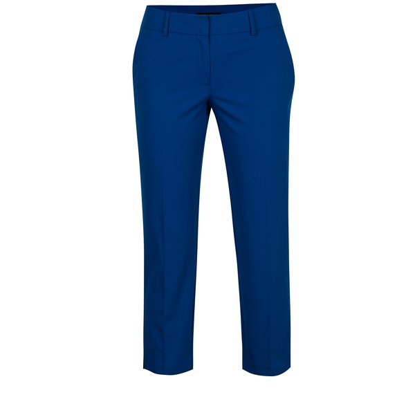 Pantaloni cropped albastri Dorothy Perkins