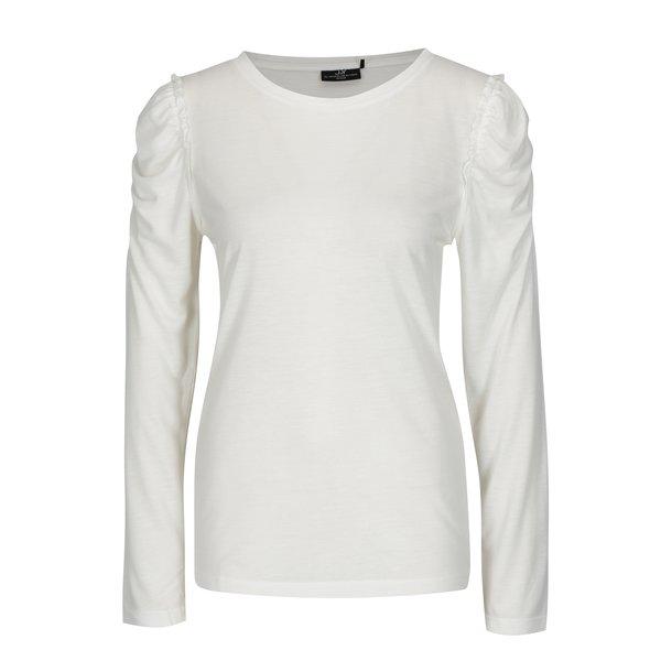 Bluza crem cu maneci incretite Jacqueline de Yong Fanny