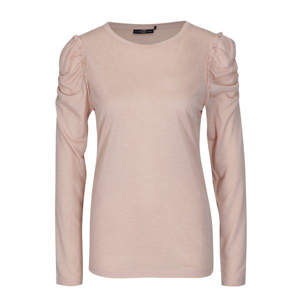 Bluza roz prafuit cu maneci incretite Jacqueline de Yong Fanny