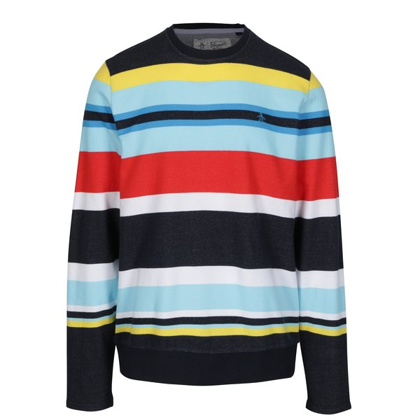 Bluza multicolora cu model in dungi – Original Penguin Engineered