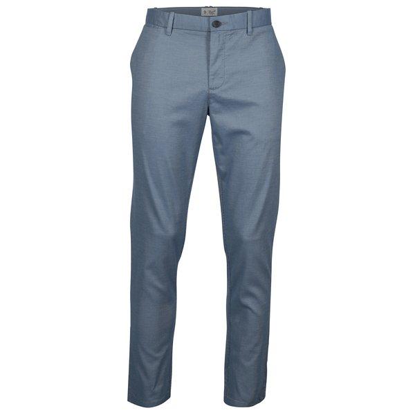 Pantaloni slim fit chino albastri - Original Penguin Large End on End