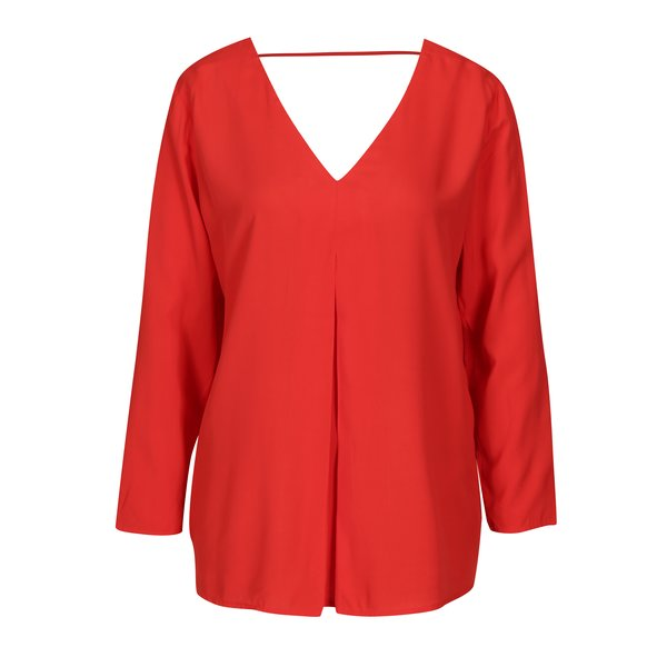 Bluza rosie cu decupaj ONLY Nova
