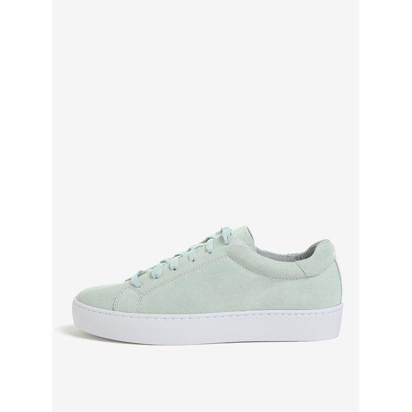 Pantofi sport verde mentol din piele intoarsa pentru femei Vagabond Zoe