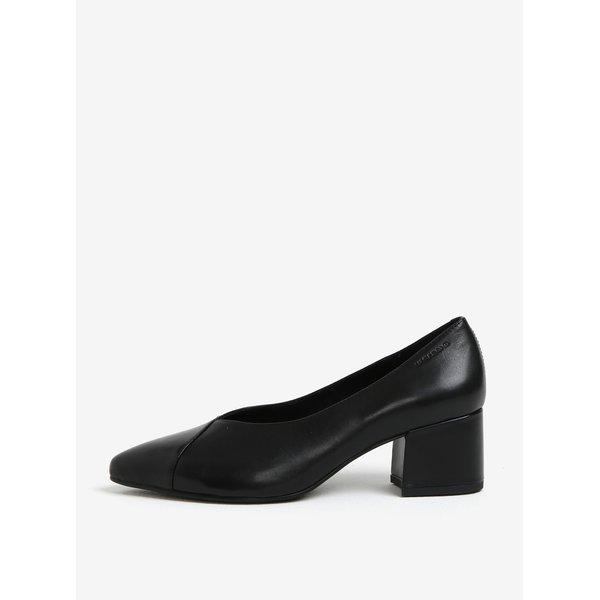Pantofi retro negri din piele Vagabond Mya