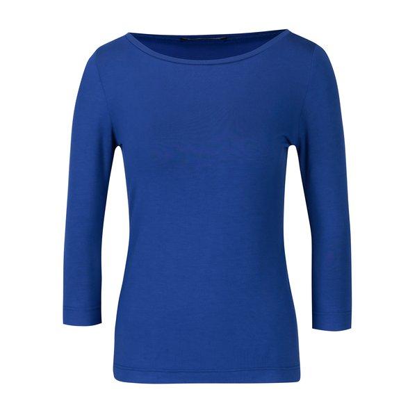 Bluza albastra cu maneci 3/4 Pietro Filipi