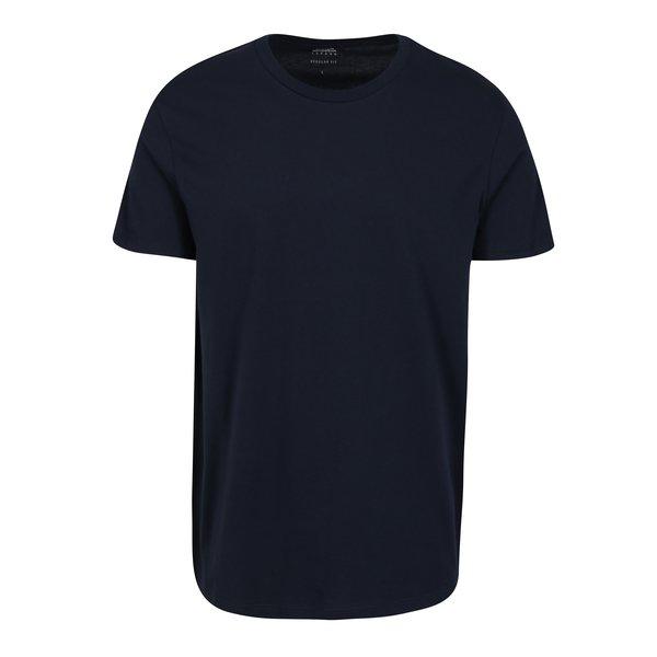Tricou bleumarin regular fit pentru barbati – Burton Menswear London