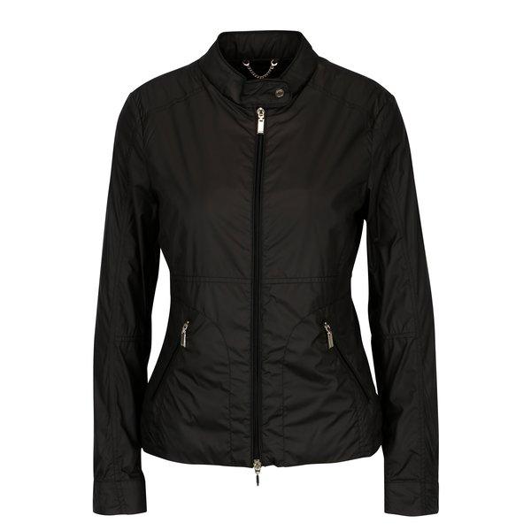 Jacheta lejera neagra impermeabila pentru femei Geox