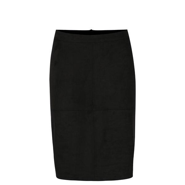 Rochie neagra cu slit la spate - VILA Pen
