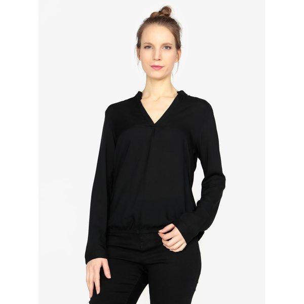 Tunica neagra cu maneci lungi pentru femei - s.Oliver