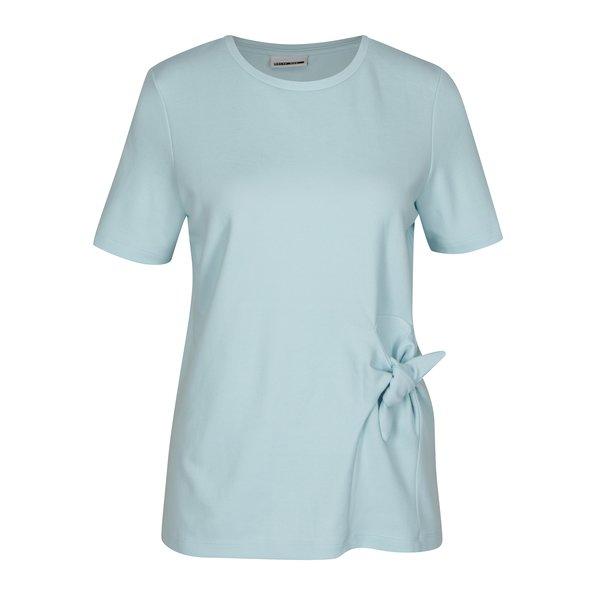 Tricou bleu cu nod asimetric Noisy May Lock